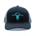 Black/Gray - Teal