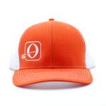 Orange/White - White